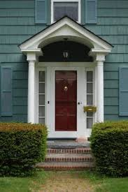 green exterior red trim google search new home pinterest