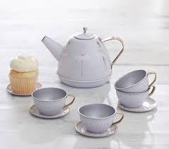 ballerina mini tea set pottery barn kids