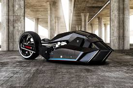 concept bmw bmw u0027s new concept motorcycle is half shark half batmobile inverse
