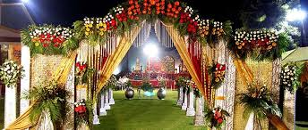 Marriage Decoration Party Tent Decoration Om Sai Caterers In Gautam Buddh Nagar India