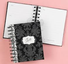 bridal gift record book damask bridal shower gift record book