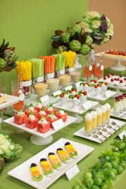 Bridal Shower Buffet by 29 Incredibly Creative Food Bar Ideas For Your Bridal Shower