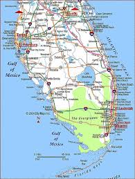 florida highway map highway map of southern florida aaccessmaps com