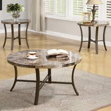 Small Table For Living Room by Charming Round Granite Top Coffee Table With Table Leg Base And