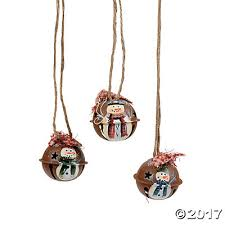 mini rustic jingle bell ornaments trading