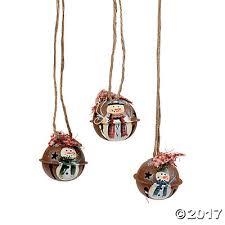 mini rustic jingle bell ornaments trading
