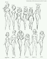 Female Body Anatomy Drawing 164 Best Drawing References Tutorials Images On Pinterest