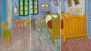 la chambre à coucher de vincent gogh three versions of gogh s bedroom blockbuster shows