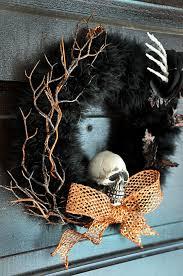 Halloween Wreaths Ideas by Spooky Halloween Door Wreaths Designs Decorating Kopyok Interior