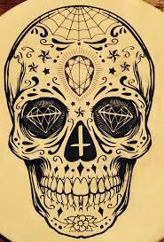 109 best sugar skull tattoos images on sugar skull