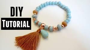 diy bracelet elastic images How to make an elastic bracelet jewelry making tutorials jpg