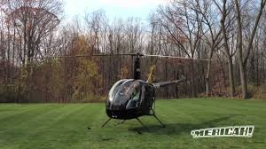 backyard helicopter take off robinson r22 youtube
