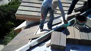 Flat Concrete Roof Tile Kirkey Roofing Eagle Tile Roof Install Youtube