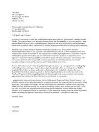 Cover Letter For Substitute Teaching Sat Tutor Cover Letter