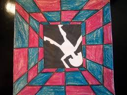 optical illusion mrs auvermann u0027s art class