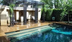 garden with pool design photo pool garden ideas australia garden