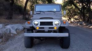 icon fj45 icon debuts old toyota fj40 with new upgrades