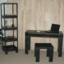 bureau etroit console à casier qui se transforme en bureau d appoint hêtre pefc