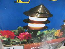 Wired Landscape Lighting Brinkmann Outdoor Lighting Ebay