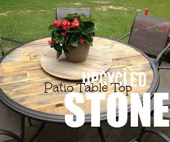 Fixing Patio Chairs Appealing How To Upcycle A Broken Patio Table Pallets Picture For