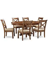 Round Dining Table Set For 6 Round Table For 6 Dining Room Sets Macy U0027s
