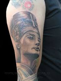 my 2th tattoo is nefertiti ancient egyptian queen nefertiti