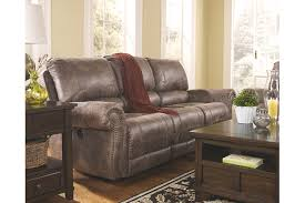 Reclining Sofa And Loveseat by Oberson Power Reclining Sofa Ashley Furniture Homestore