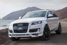 Audi Q7 Black Edition - abt takes one last look at the audi q7 before the next gen arrives