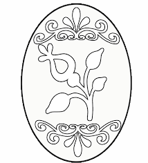 easter egg hunt coloring pictures