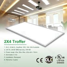 2 X 4 Ceiling Light Led Ceiling Panel Light 2x4 Troffer Replacement Led Ceiling Panel