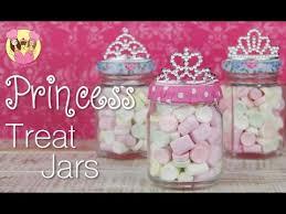 Disney Princess Party Decorations Princess Party Treat Jars Sleeping Beauty Or Cinderella Disney