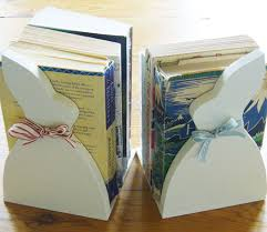 bunny bookends these brilliant bookends will cheer up your home library