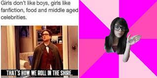 Memes Girls - 20 memes only geek girls will get cbr
