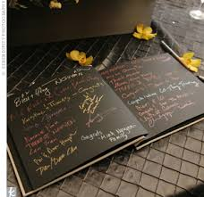 black guest book modern guest book we still do 10 year vow renewal