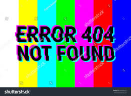 design pages 404 error technical defficulties stock vector