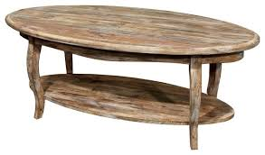 Rustic Oval Coffee Table Rustic Oval Coffee Table Frontarticle