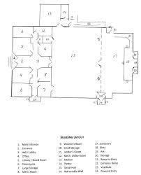 sanctuary floor plans rebuild project jcc of lbi