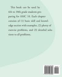 amazon com american mathematics competitions amc 10 preparation