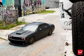 dodge challenger srt8 black rims matte black challenger srt8 on vossen wheels batmobile