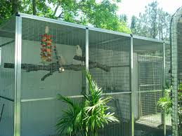 state of the art flight aviaries for parrots and exotic birds