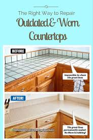 Damaged Kitchen Cabinets 51 Best Countertop Refinishing Images On Pinterest Bathroom