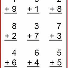 free printable math worksheets for kindergarten kristal