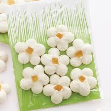 lemon meringue flowers