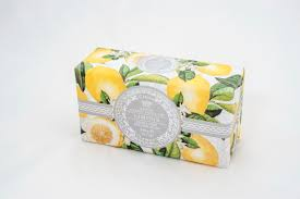 paper wrapped soap lemon grecale paper wrapped soap 300g saponificio varesino