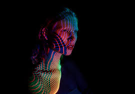 mads perch s stunning light projections on human figures sheep