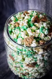 green glob halloween popcorn recipe the diy lighthouse