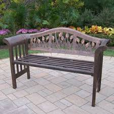 Outdoor Tables And Benches Shop Patio Benches At Lowes Com