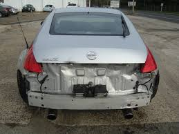2006 nissan 350z 6 speed manual salvage rebuildable for sale