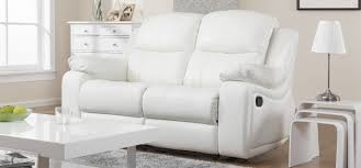 White Recliner Sofa Amazing Of White Leather Recliner Sofa With Montreal Blossom White