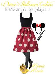 minnie mouse costume diy minney mouse costume using regular clothes thrifty nw